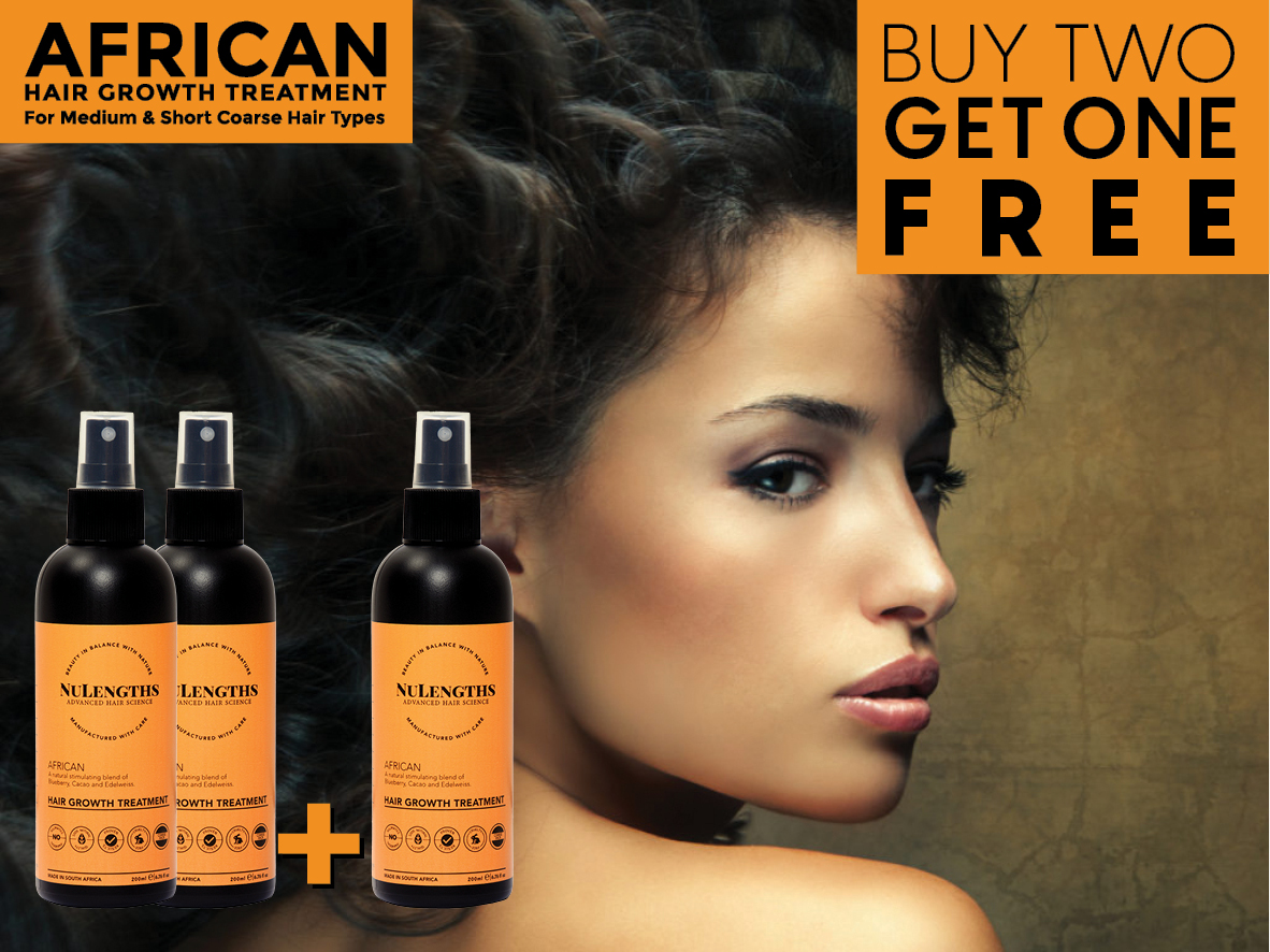 *Limited Special* Buy 2 get 1 Free African Hair Growth Treatment
