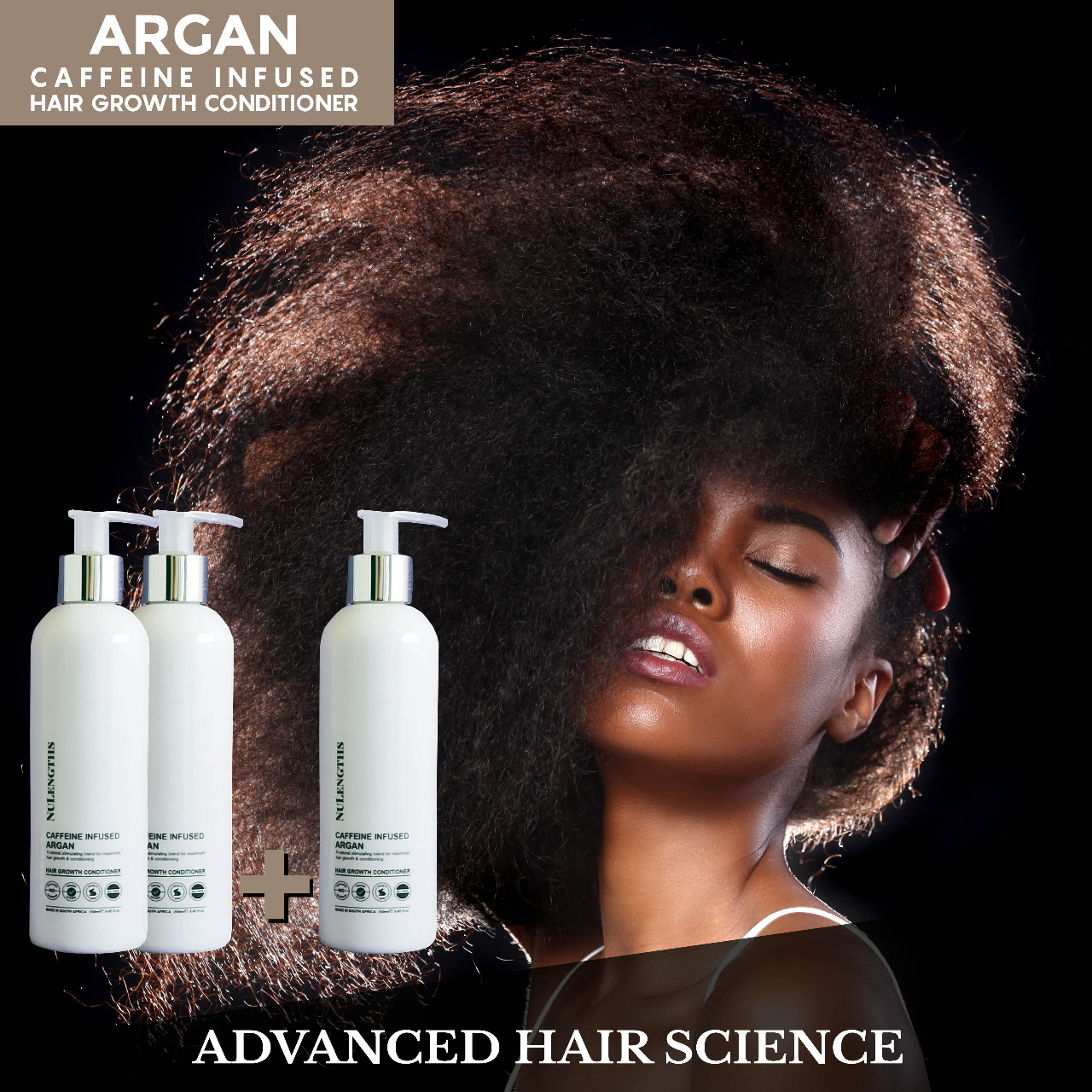 *Limited Special* Buy 2 get 1 Free Caffeine Infused Argan Hair Growth Conditioner