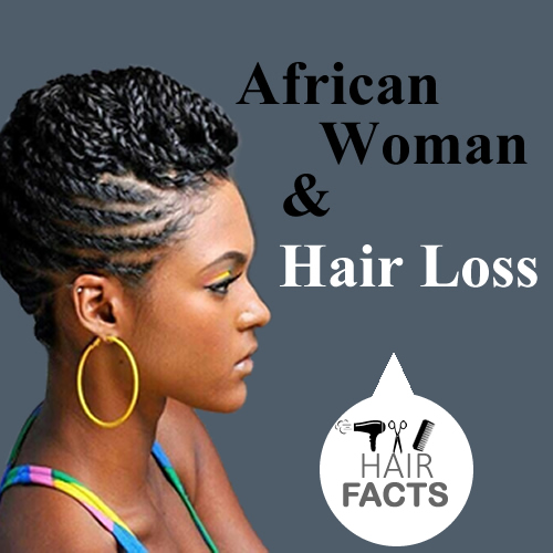 African Woman And Hair Loss